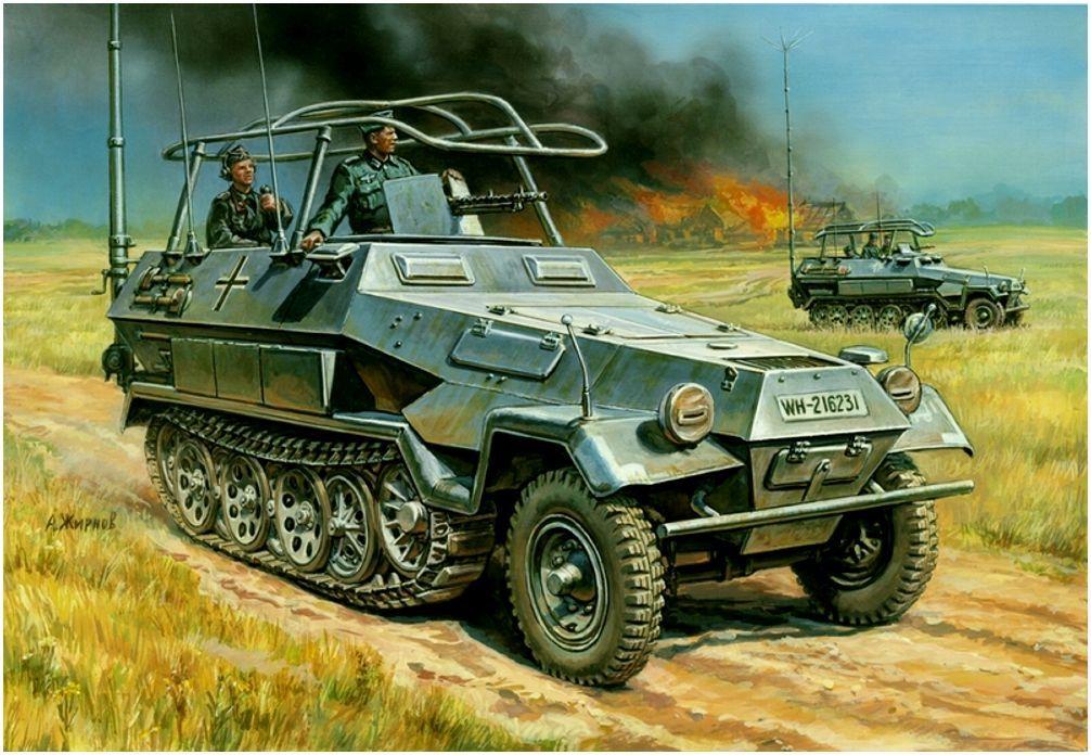 Жирнов Андрей. Бронетранспортер Sd.Kfz. 251-3 Ausf. B Mittlerer.