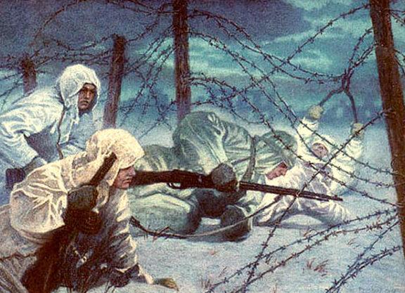 Марченко Георгий. На окраине Сталинграда.
