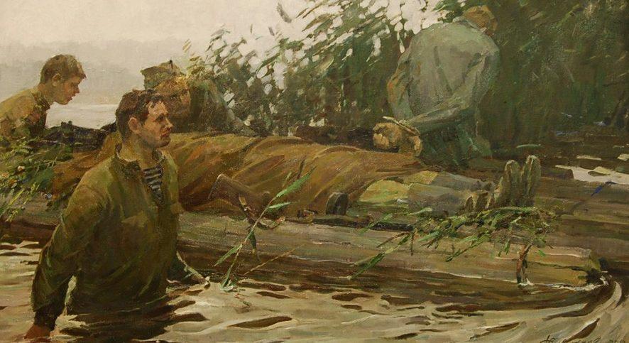 Савостьянов Федор. Разведчики.