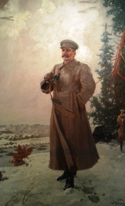 Соколов-Скаля Павел. И.В. Сталин на оборонительных рубежах под Москвой.