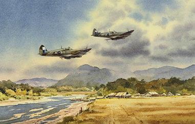 Pannett Denis. Истребители Spitfire.