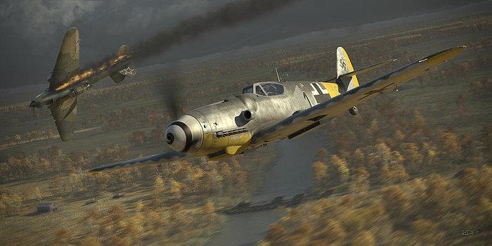 Perry Robert. Воздушный бой.