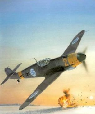 Wyllie Iain. Истребитель Bf-109G-2.