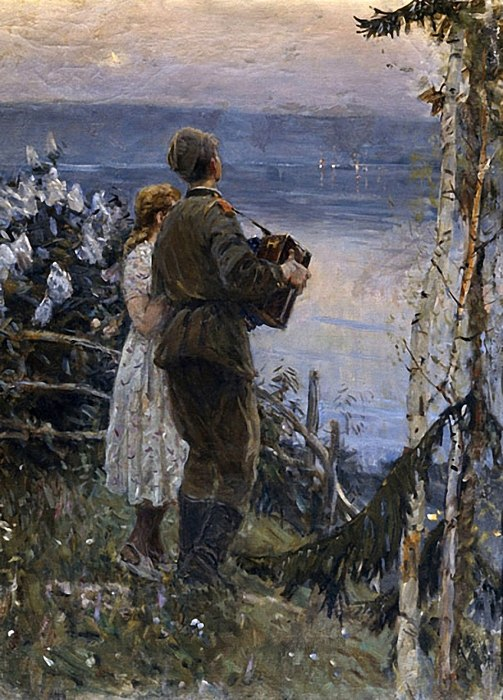 Дмитриевский Виктор. В родных местах.