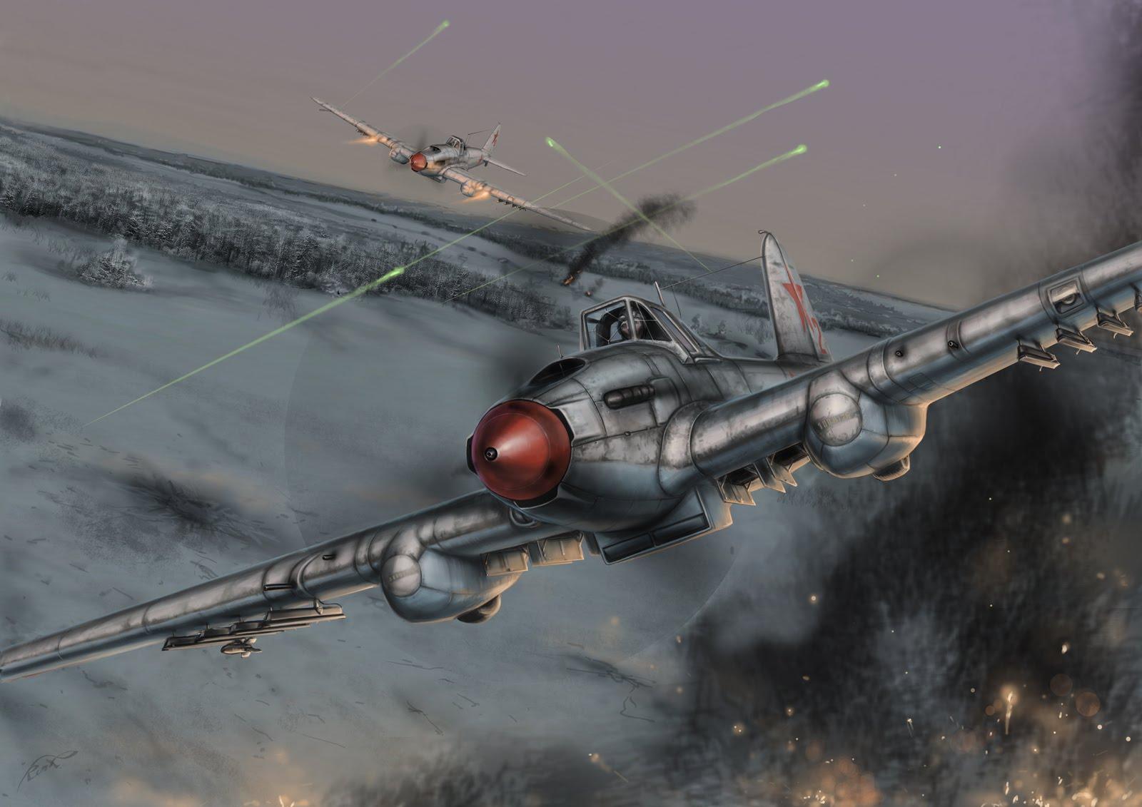 Кочнев Роман. Штурмовики Ил-2.