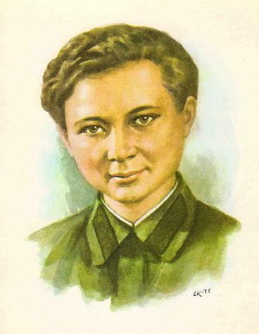 Кручина Александр. Герой Советского Союза М. Поливанова.