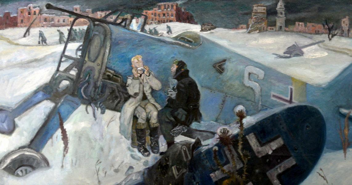Любаев Петр. После Сталинградской битвы.