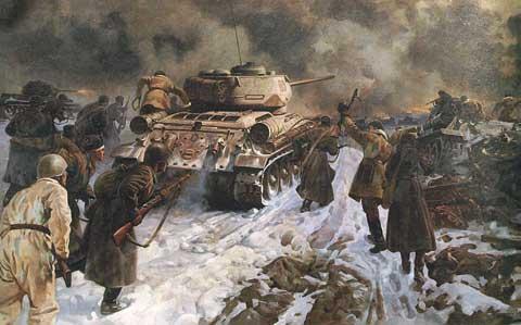 Марченко Георгий. Начало разгрома под Сталинградом.