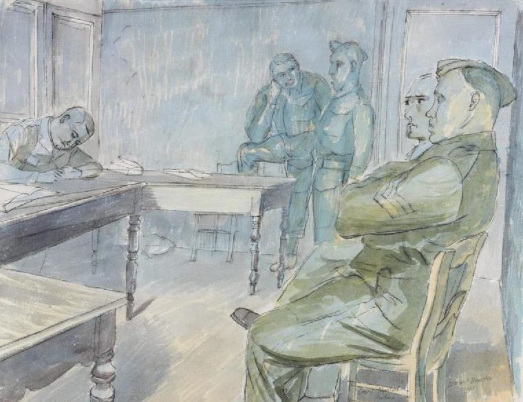 Bawden Edward. Военно-полевой суд.
