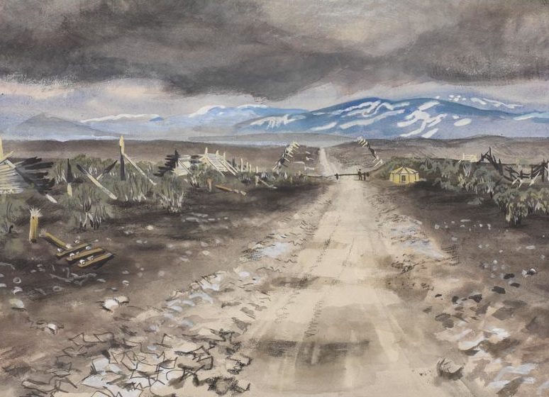 Bone Stephen. Финская граница, 1945 г.