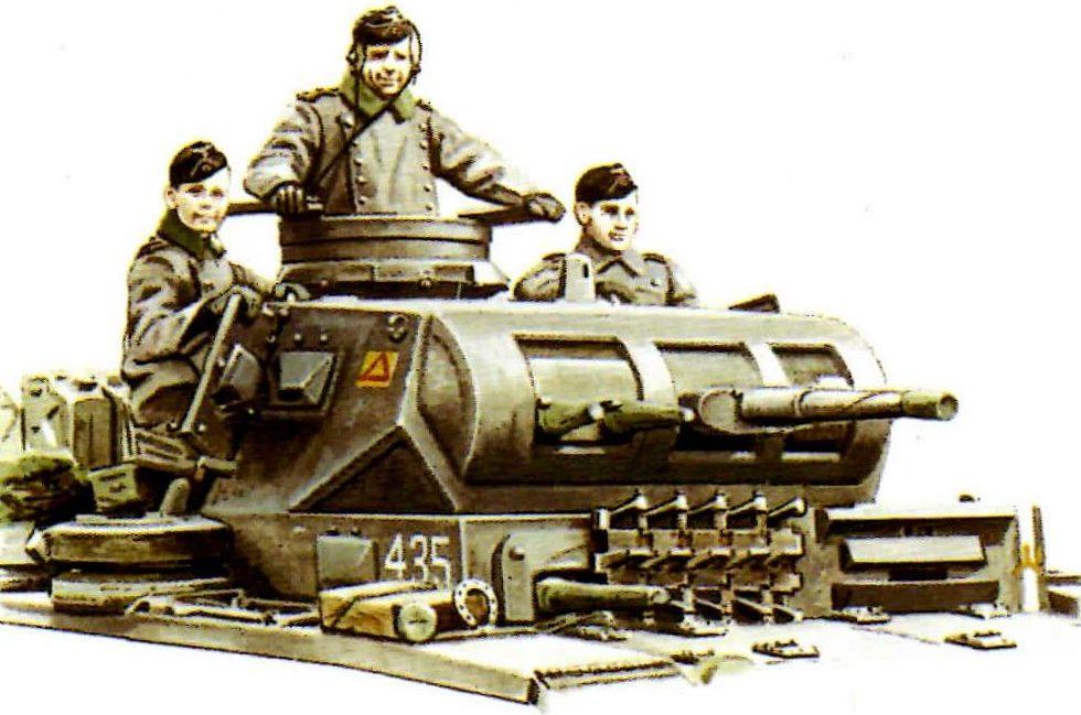 Smith David. Танк Panzer III Ausf. E.