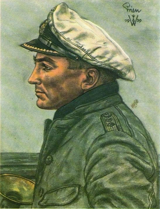 Willrich Wolfgang. Командир подлодки Günther Prien.