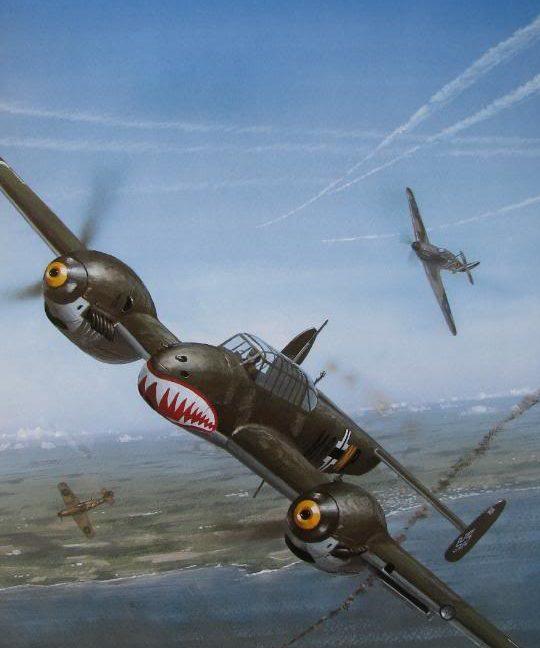 Wyllie Iain. Истребитель Bf-110 C.