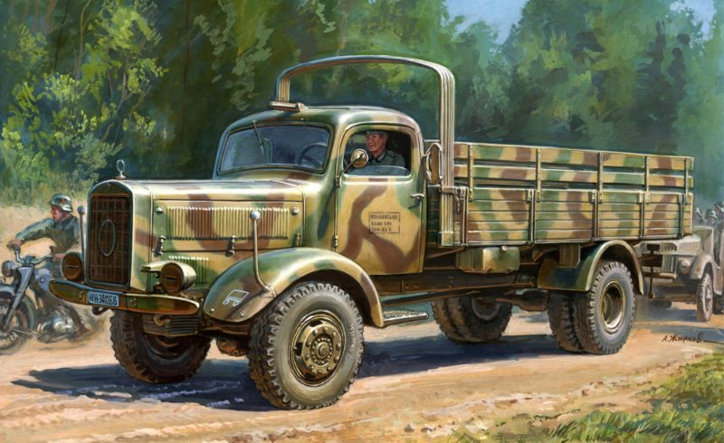 Жирнов Андрей. Грузовик L 4500 A.