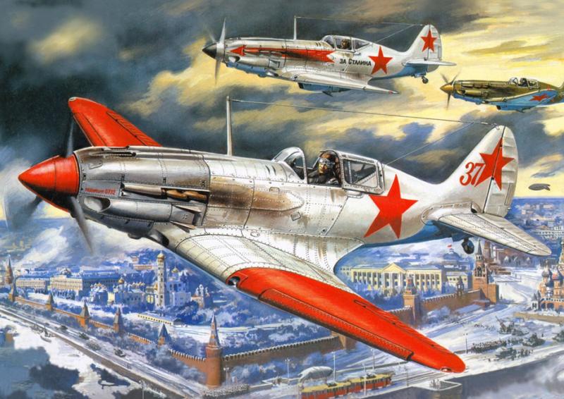 Руденко Валерий. Истребитель МиГ-3.