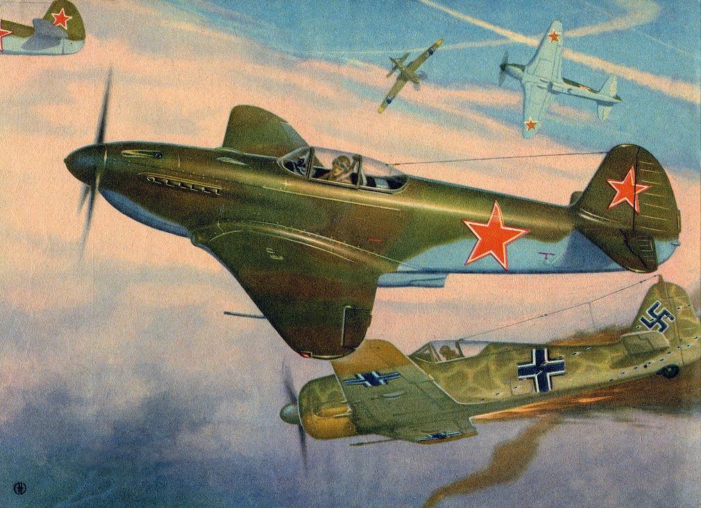 Молчанов Эдуард. Истребитель Як-3.