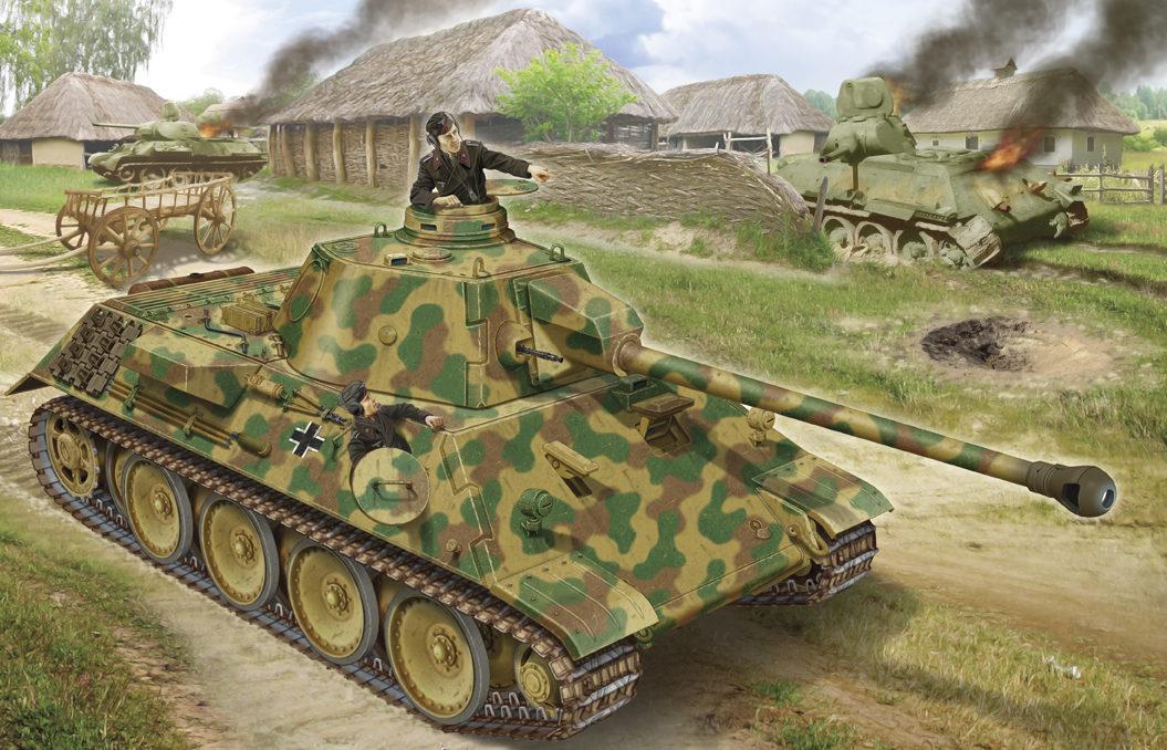 Петелин Валерий. Танк VK-3002.