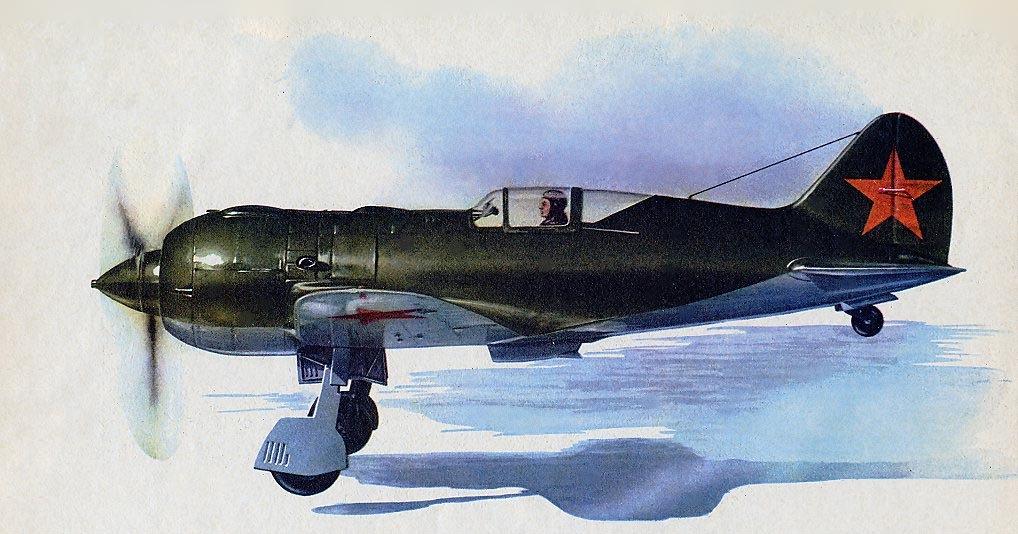 Петровский Михаил. Истребитель И-185.