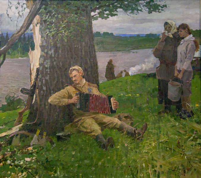 Савостьянов Федор. Перерыв между боем.