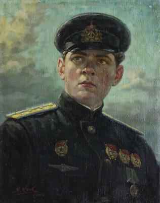 Каев Я. Летчик Балтийского флота П. С. Макеев.