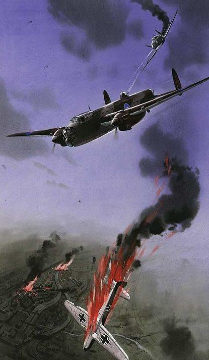 Krogman W. Бомбардировщик «Manchester».