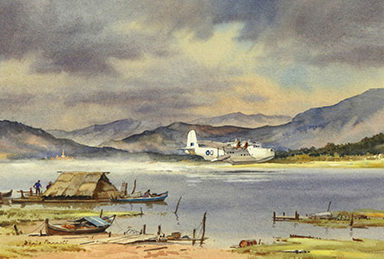 Pannett Denis. Летающие лодки.