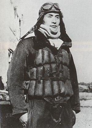 Летчик-камикадзе капитан Юкио Секи. Октябрь, 1944 г.