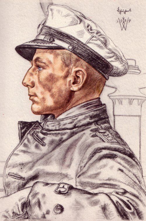 Willrich Wolfgang. Корвет-капитан Otto Schuhart.