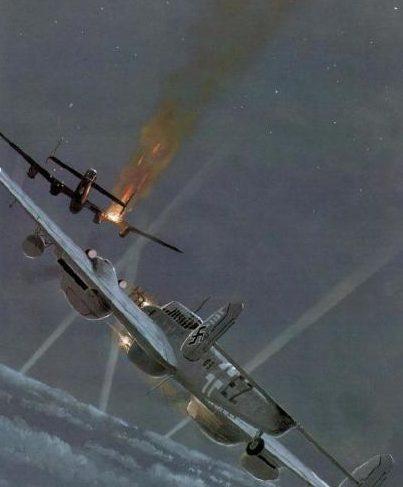Wyllie Iain. Истребитель Bf-110 G-4.