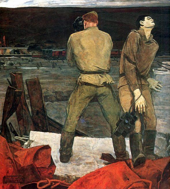Никич (Криличевский) Анатолий. Военные корреспонденты.