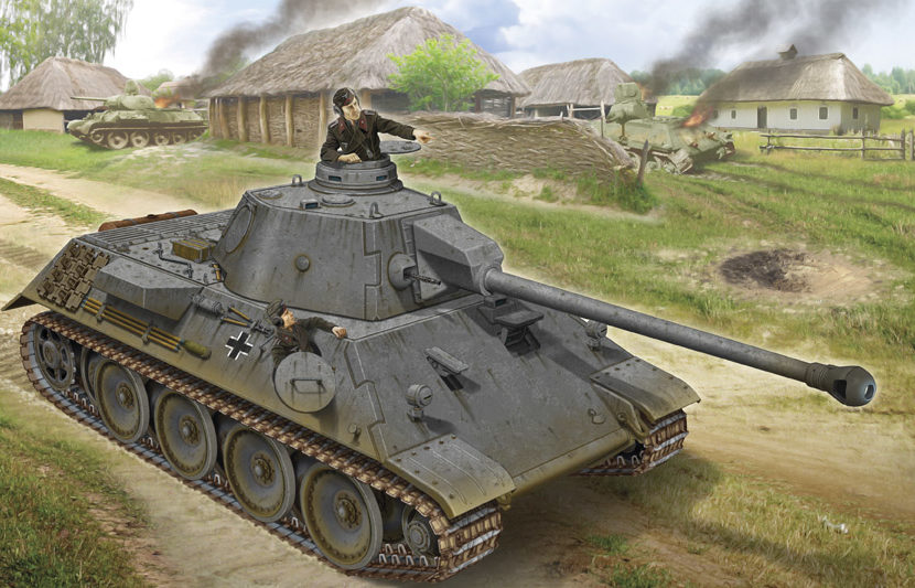 Петелин Валерий. Танк VK3-002DB.
