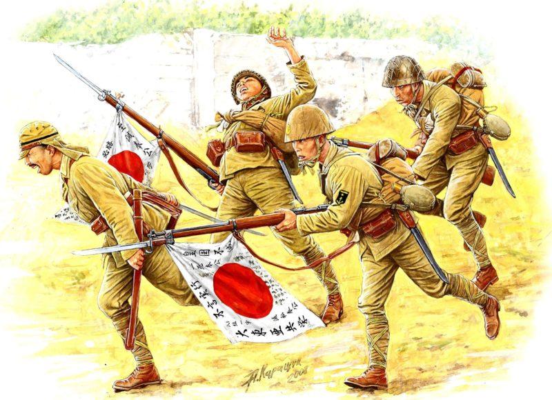 Каращук Андрей. Японская пехота.