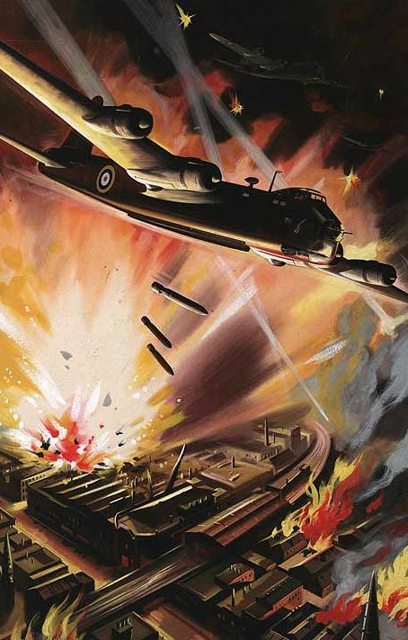 Krogman W. Бомбардировщики Stirling атакуют.