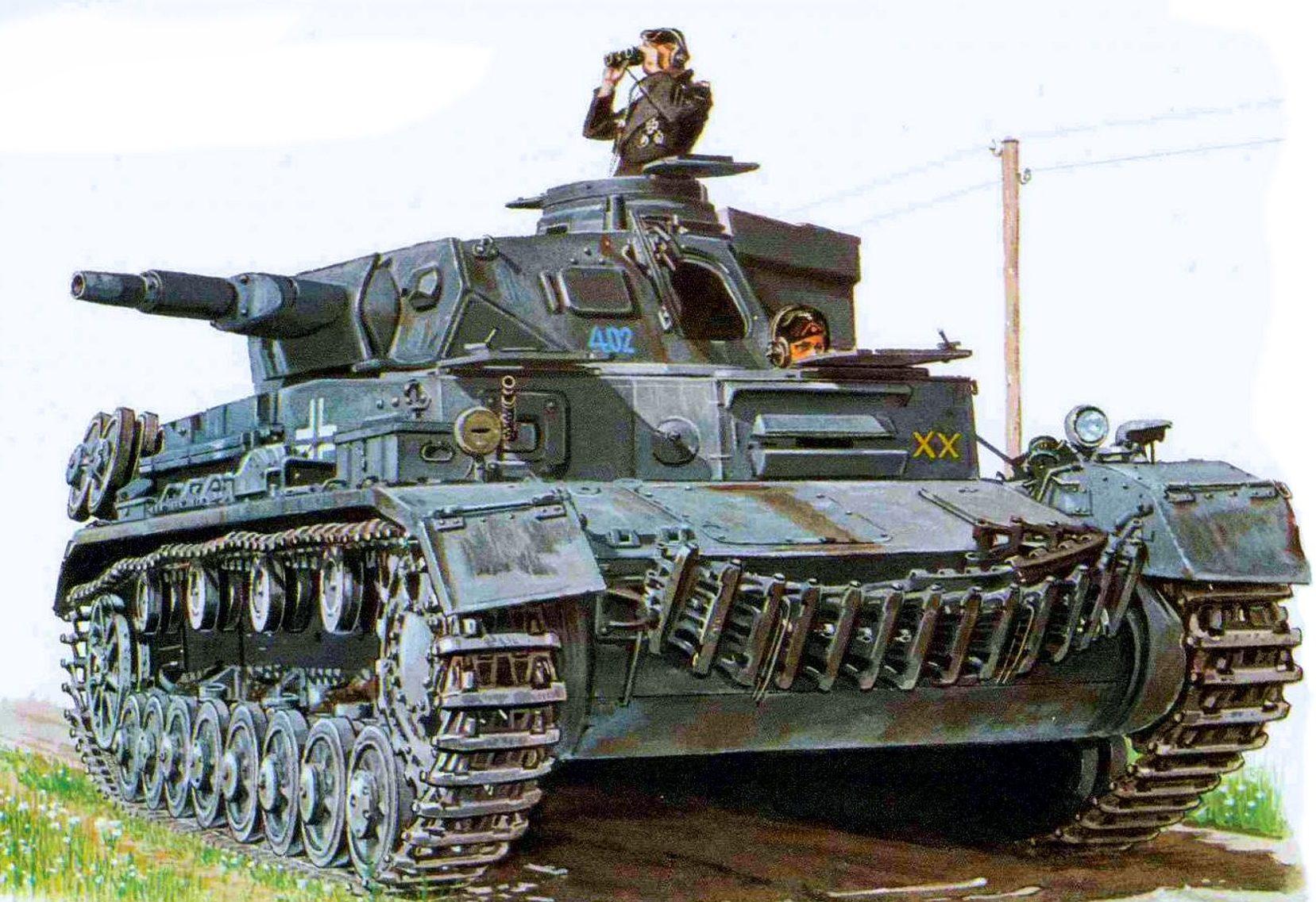 Smith David. Танк Panzer IV Ausf. D.