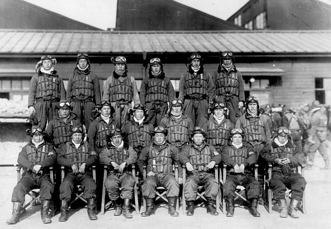Третья эскадрилья корпуса Яшо. 1944 г.