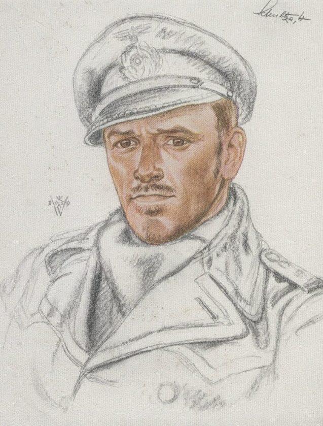 Willrich Wolfgang. Корвет-капитан Herbert-Emil Schultze.
