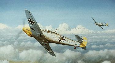 Wyllie Iain. Истребитель Ме-109.