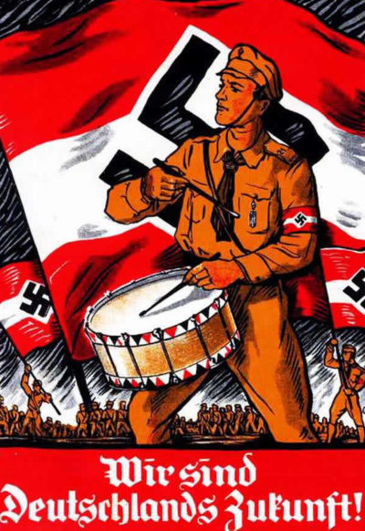 Пропагандистские плакаты Германии.