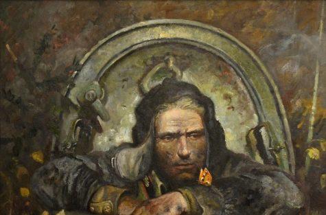 Любаев Петр. Танкист.