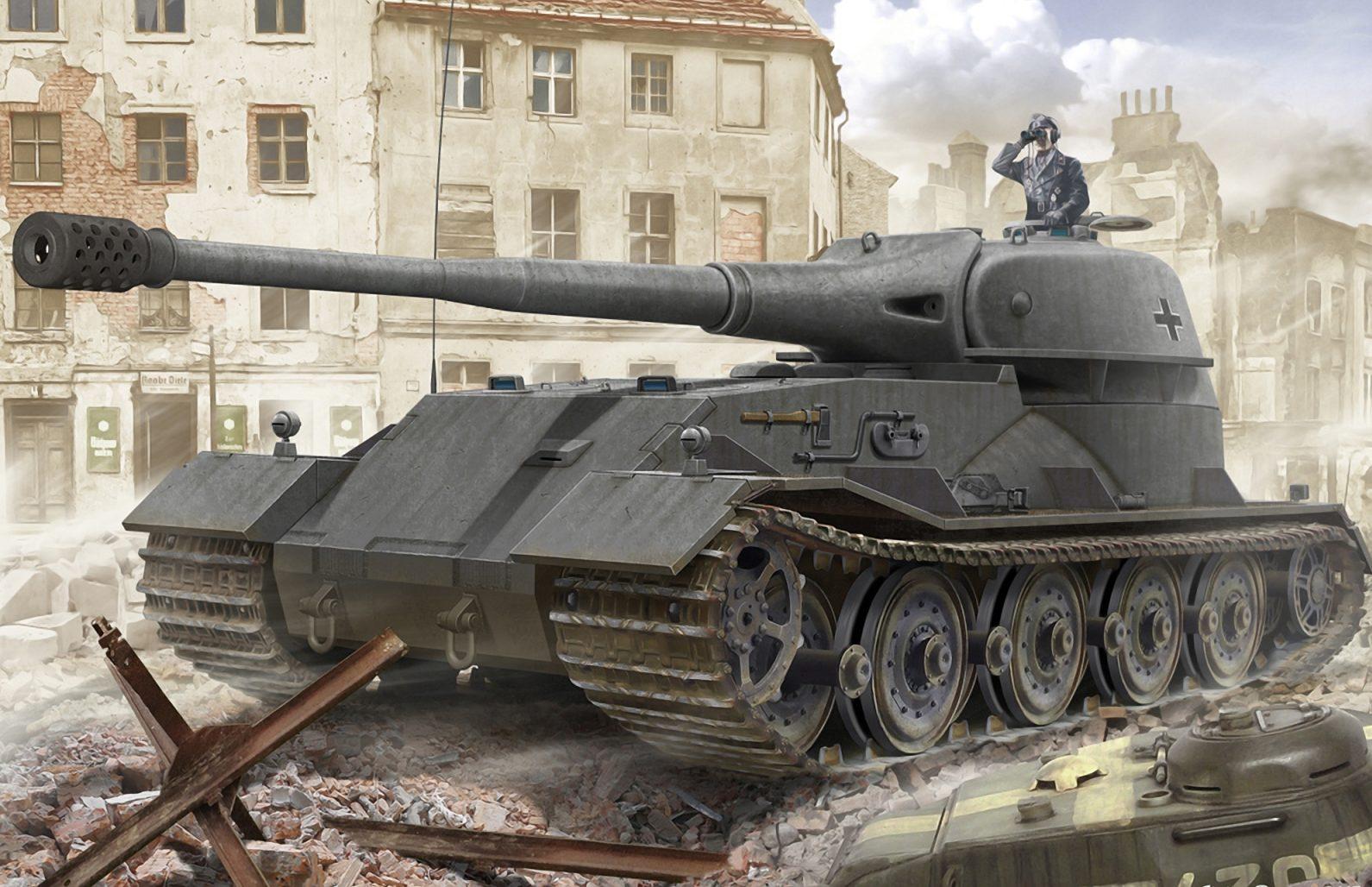 Петелин Валерий. Танк VK-7201.