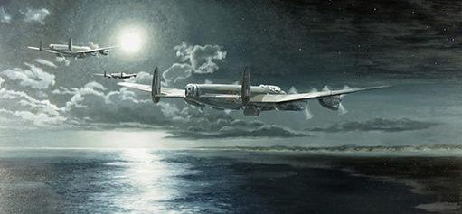 Maddison Keith. Бомбардировщики Avro Lancasters.