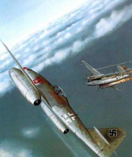 Wyllie Iain. Истребитель Me-262A-1a.