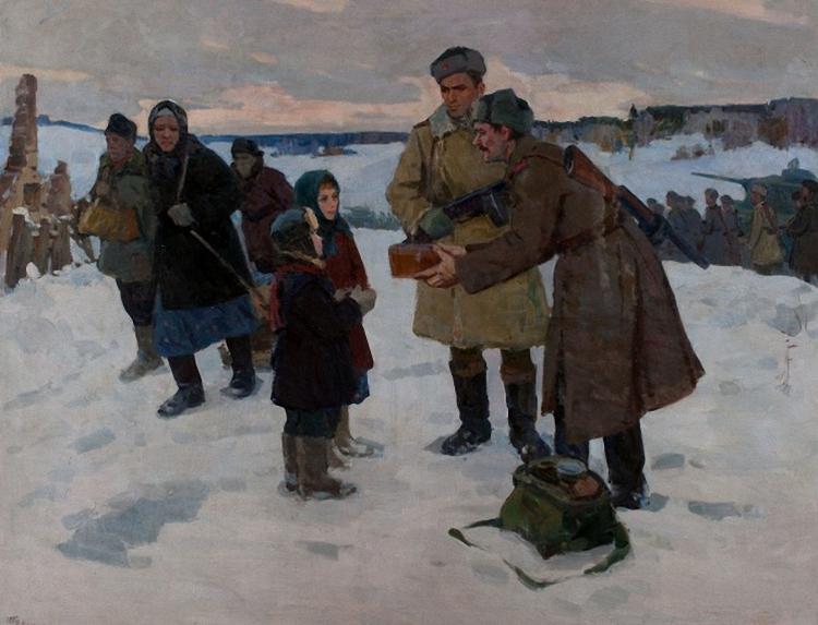 Внодченко Юрий. Буханка хлеба.