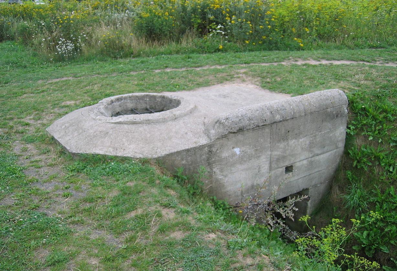 Общий вид бункера типа «Тобрук».