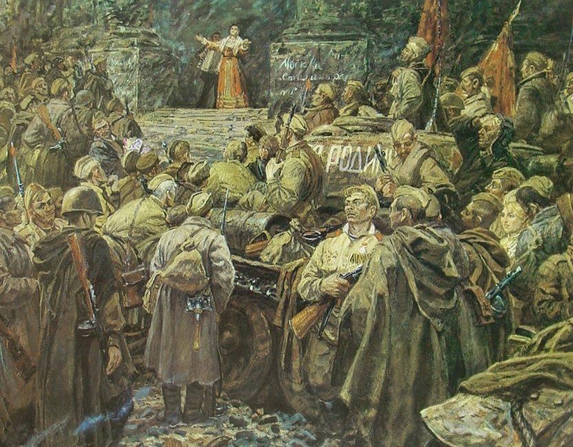Дмитриевский Виктор. Песня для победителей.