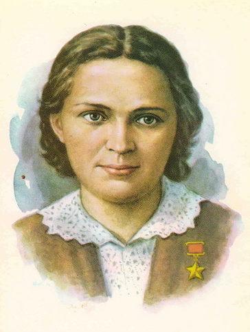 Кручина Александр. Герой Советского Союза Е. Мазаник.