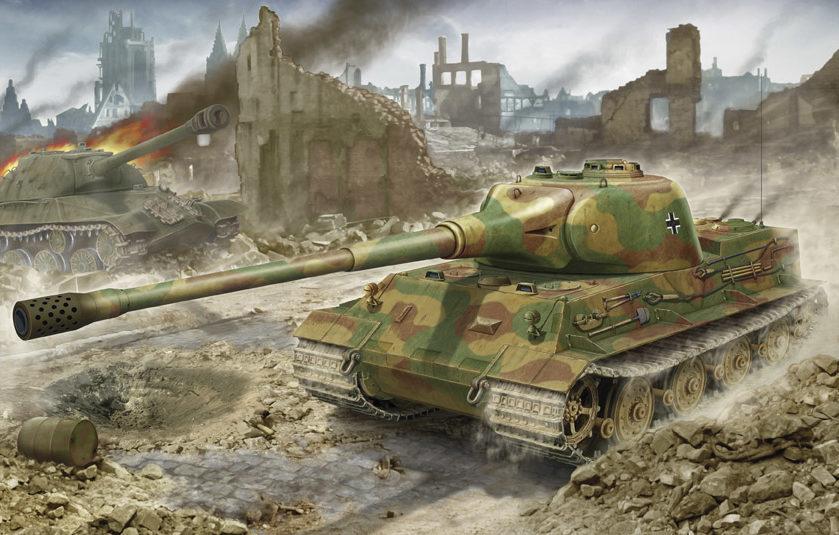 Петелин Валерий. Танк Panzer VII «Lowe».