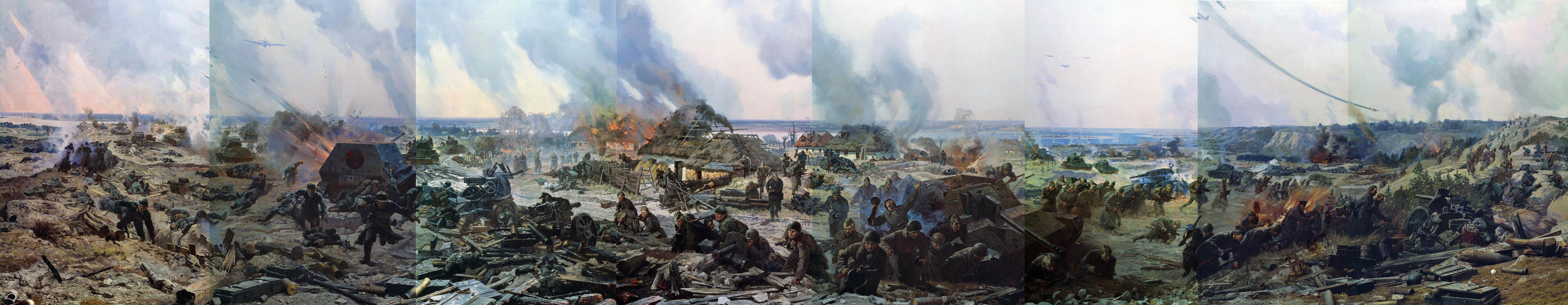 Присекин Николай. Диорама «Битва за Киев. Лютежский плацдарм. 1943 год».