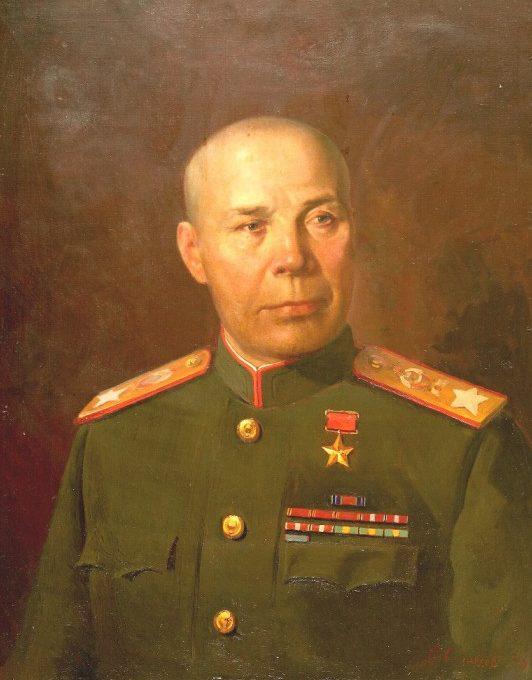 Соловьёв Александр. Портрет маршала С.К. Тимошенко.