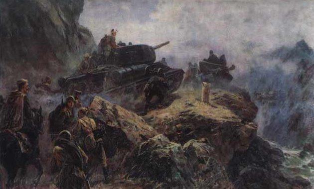 Усыпенко Федор. Советско-японская война.